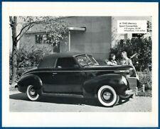 1940 Mercury Sport Convertible, V-8 Engine, 95 HP - Photo Print