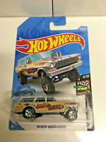 2019 Hot Wheels Grey Jerry Rigged Gasser SUPER CUSTOM Real Riders GOODYEAR