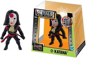 "Jada Toys Katana Metal Die Cast 2.5"" Figure Suicide Squad DC M426"