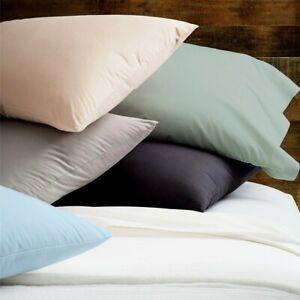 Renee Taylor Organic Cotton Percale 300TC Sheet Sets 8-Colour Options