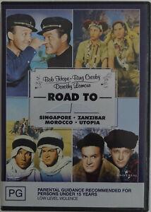 BOB HOPE/BING CROSBY- 4 ROAD TO... Movie Classics. Region 2/4.