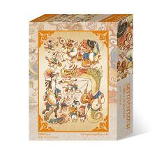 1000Piece Jigsaw Puzzle Chinese Zodiac Illustration Hobby Home Decoration DIY