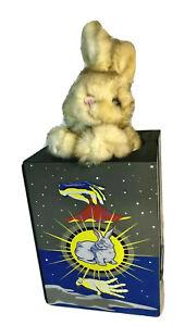 Melissa & Doug MagicTrick Magician Painted Wooden Box Stuffed Bunny Rabbit