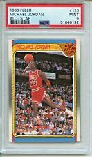 1988 Fleer All-Star #120 Michael Jordan PSA 9 Mint Chicago Bulls