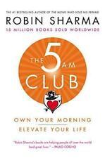 The 5AM Club by Robin Sharma (2018, Hardcover)