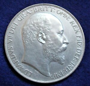 King Edward VII1902 Great Britain Proof Silver Crown
