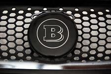 Grande Brabus logo 3D nero e argento su griglia radiatore Smart ForTwo 453