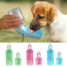 Dog Travel Water Bottle Portable Collapsible Drink Bowl Pet Cat Dispenser Feeder