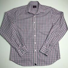 UNTUCKit Men's Pink Gingham Cotton Button Down Shirt  Size Small
