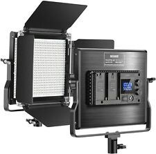 Neewer Upgraded 660 LED Video Light Dimmable Bi-Color LED Panel with LCD Screen