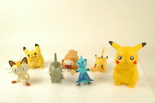 lot of 7X Pokemon Figurines Plush Tomy Pignite Pokemon Go