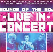 Live in Concert: Sounds of the 80's Various Artists MUSIC CD