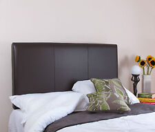 "Heritage Real Hide Leather Bed Headboard 71cm 28"" Tall"