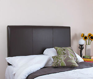 """Heritage Real Hide Leather Bed Headboard 61 cm 24"""" Tall"""