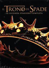 TRONO DI SPADE - STAGIONE 2 COFANETTO 5 DVD NUOVO!
