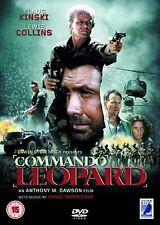 Commando Leopard DVD Lewis Collins Klaus Kinski Original UK Rele New Sealed R2