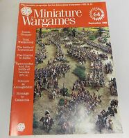 Miniature Wargames Number 64 September 1988 oop SC