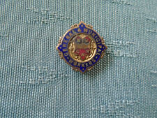 VINTAGE GMW - GENERAL & MUNICIPAL WORKERS TRADE UNION  ENAMEL BADGE - FATTORINI