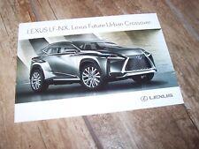 Photo Carte Officielle / Photo Card LEXUS LF-NX //