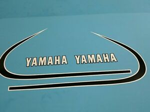 YAMAHA AT3 CT3 1972 AND 1973 TANK  DECAL GRAPHIC SET (#Y21)