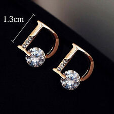 1 Pair New Fashion Women Lady Elegant Crystal Rhinestone Ear Stud Earrings Cool