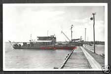 Merauke rppc Landing Stage Ship New Guinea Indonesia 1955