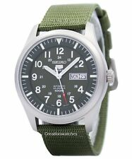 Seiko 5 Military Automatic Sports SNZG09 SNZG09K1  SNZG09K Mens Watch