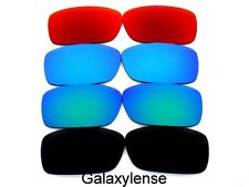 Galaxy Replacement Lenses For Oakley Crankcase Sunglasses Black&Blue&Green&Red