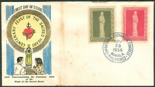 1956 Phil Commemorating The Centenary Of The FEAST Of The SACRED HEART FDC