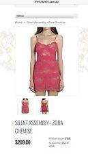 Silent Assembly Zora By Kay Cohen CHEMISE Nightwear  With Swarovski  Size S £199