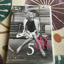 SEX AND THE CITY DVD. 5. THE COMPLETE FIFTH SEASON. 2 DISCS.