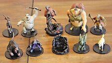 Large Miniatures Lot 10 D&D Pathfinder Fantasy Encounter Monster Figures Giants