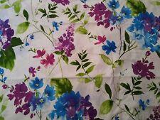 Pointehaven 200 Thread Count Cotton Floral Print Duvet Cover Set Full / Queen