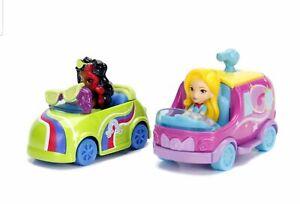 Nickelodeon Sunny Day 2 Pack Glam Van & Coloring Car Die Cast Vehicles Kid Toys