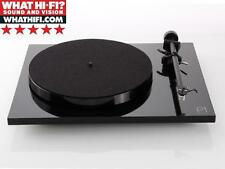 Rega Planar 1 Turntable Gloss Black with Carbon Cartridge Fitted