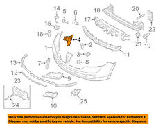 Lincoln FORD OEM 10-12 MKZ FRONT BUMPER-Side Reinforcement Left AH6Z17C947B