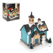 DECORAZIONI di Natale fibre ottiche Building 523061-casa Pupazzo di neve
