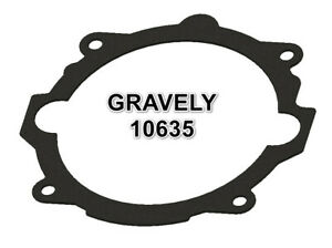 GRAVELY 10635 COMMERCIAL PROFESSIONAL 400 CHASSIS TO ADAPTER PLATE GASKET