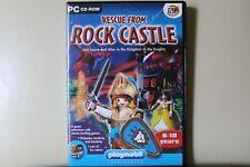 Rescate de rock Castillo Playmobil PC CD ROM Royal Mail 1st Class rápido y libre