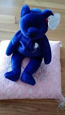 ULTRA RARE 1st EDITION PRINCESS DIANA BEANIE BABY P.E.PELLETS WITH TAGS 1997