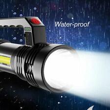 LED Searchlight Handscheinwerfer Taschenlampe Wiederaufladbare Super Bright DE