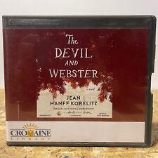 The Devil and Webster by Jean Hanff Korelitz Ex Lib 9 CD Unabridged Audiobook