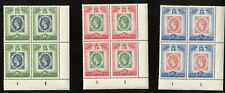 Saint Lucia 1960 the 100th Anniversary of St. Lucia Blocks of 4 O.G Stamps