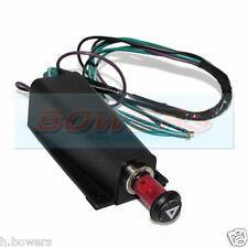 12V CLASSIC CAR HAZARD WARNING LIGHT SWITCH + RELAY WITH BRACKET AS LUCAS SFB300