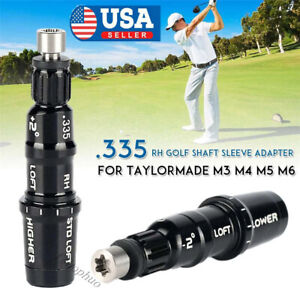 Shaft Adapter Sleeve .335 Compatible with TaylorMade SIM/M6/M5M4/M3/M2/M1/R15