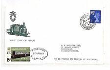 Al159 1972 GB festiniog ferroviaria IED COPERTINA {samwells-covers} PTS