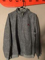 d29f8295e25 SUPREME Nike Air Jordan III 3 Full Zip ELEPHANT PRINT Jacket Cement ...