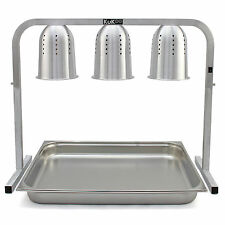 3 Alimenti Calore Luci accese carvery Display Buffet Caldo HOT ristorazione Unità per server