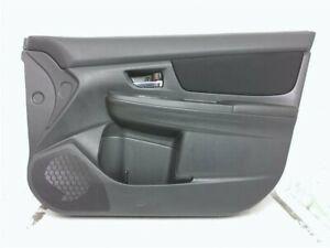 13 14 Subaru XV Crosstrek Front Right Passenger Interior Door Panel Trim Black
