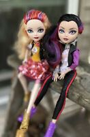 School Spirit Apple White & Raven Queen Doll 2 Pack Ever After High 2012 Mattel